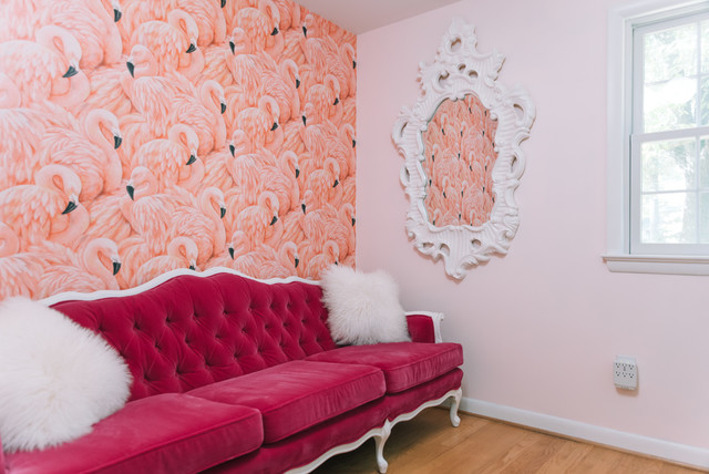 My Houzz: Home's a Place Where She Can Get Creative eclectic-living-room