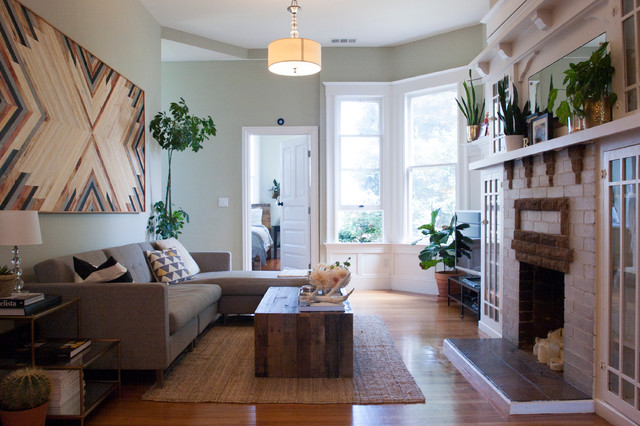 My Houzz Laid Back Casual Style In A San Francisco Home Eclectic Living