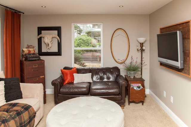 My houzz lincoln city brandt chelsea eclectic for Living room 75020