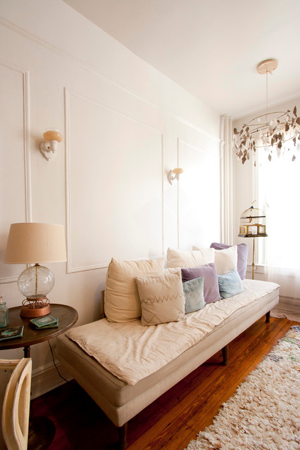 Aya's Boerum Hill Home eclectic-living-room