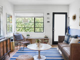 eclectic-living-room Upholstery in London: Minimal Meets Boho Style in 570 Square Feet (13 photos)