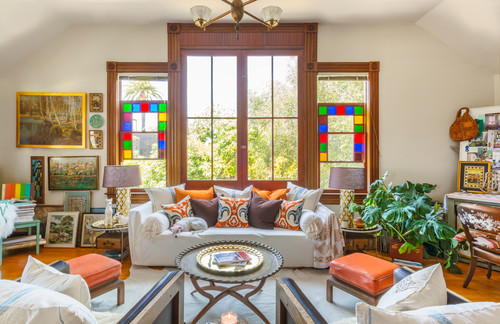 My Houzz: Modern Moroccan Chic in a Victorian Carriage House