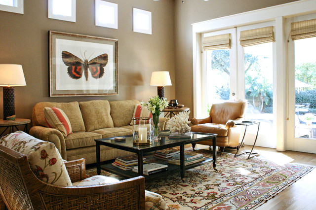 my houzz newman home transitional living room tampa by mina brinkey. Black Bedroom Furniture Sets. Home Design Ideas