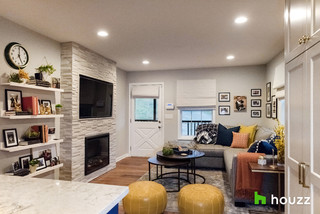 My Houzz: NFL Star Deshaun Watson Surprises Mom With a Remodel transitional-living-room