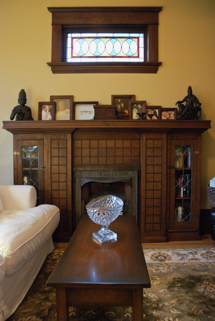 My Houzz: Old-World Charm With a Modern-Love Twist - Craftsman - Living Room - vancouver - by ...