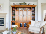 mediterranean living room My Houzz: Spanish Meets Tuscan in Southern California (20 photos)