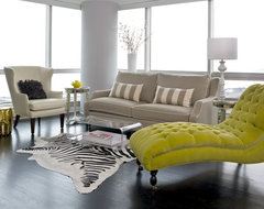 Water Front in the Windy City transitional-living-room