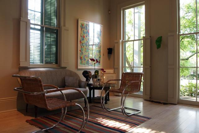 My Houzz Wayne Amedee Transitional Living Room New Orleans By Kayla Stark