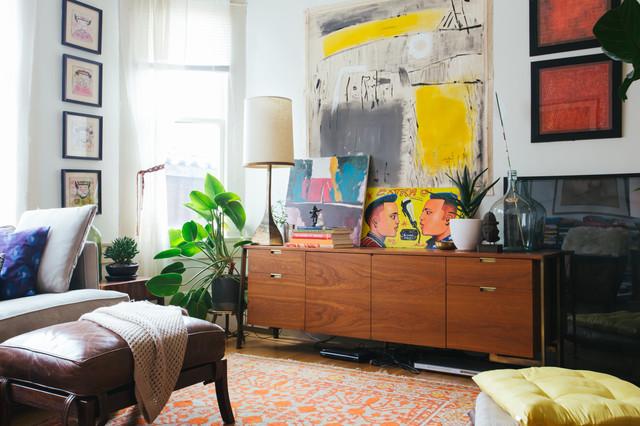 My Houzz: Rena Thiagarajan eclectic-living-room