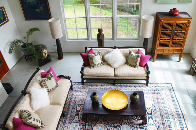 My Houzz Rockstar Vibe Meets New England Dream Home Eclectic Living Room
