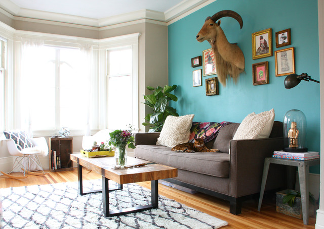 My Houzz San Francisco Eclectic Living Room San