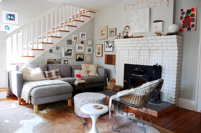 My Houzz: Asheville Home eclectic-living-room