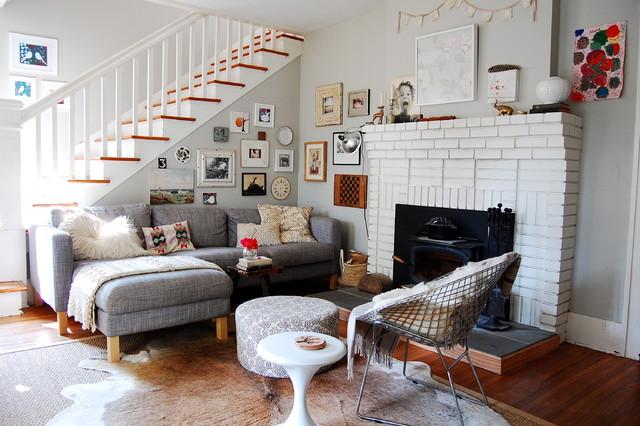 My Houzz Asheville Home Scandinavian Living Room