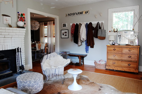 Eclectic Living Room by Brooklyn Photographers Corynne Pless