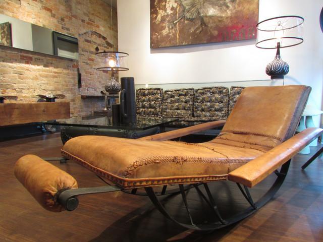 My Houzz: suspension of disbelief industrial-living-room