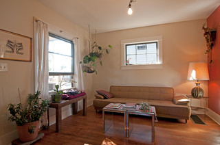 My Houzz: Tiny And Tinier; Big Space In A Small House And Smaller ADU.    Eclectic   Living Room   Portland   By Louise Lakier