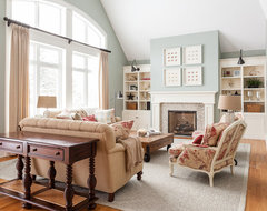 My Houzz: Traditional Home With Cottage Flair transitional-living-room
