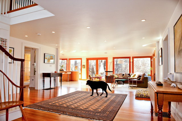 My Houzz Updated Federal Style In Massachusetts Traditional Living Room