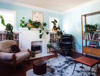 My houzz boho design in a colorful 1927 bungalow for Joop living room 007