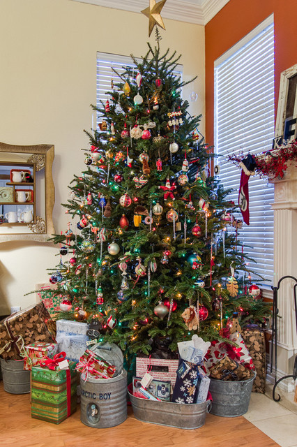 Decorating Ideas > My Own Home Christmas Decor  Eclectic  Living Room  ~ 213040_Houzz Christmas Decorating Ideas