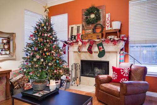 My own home Christmas Decor