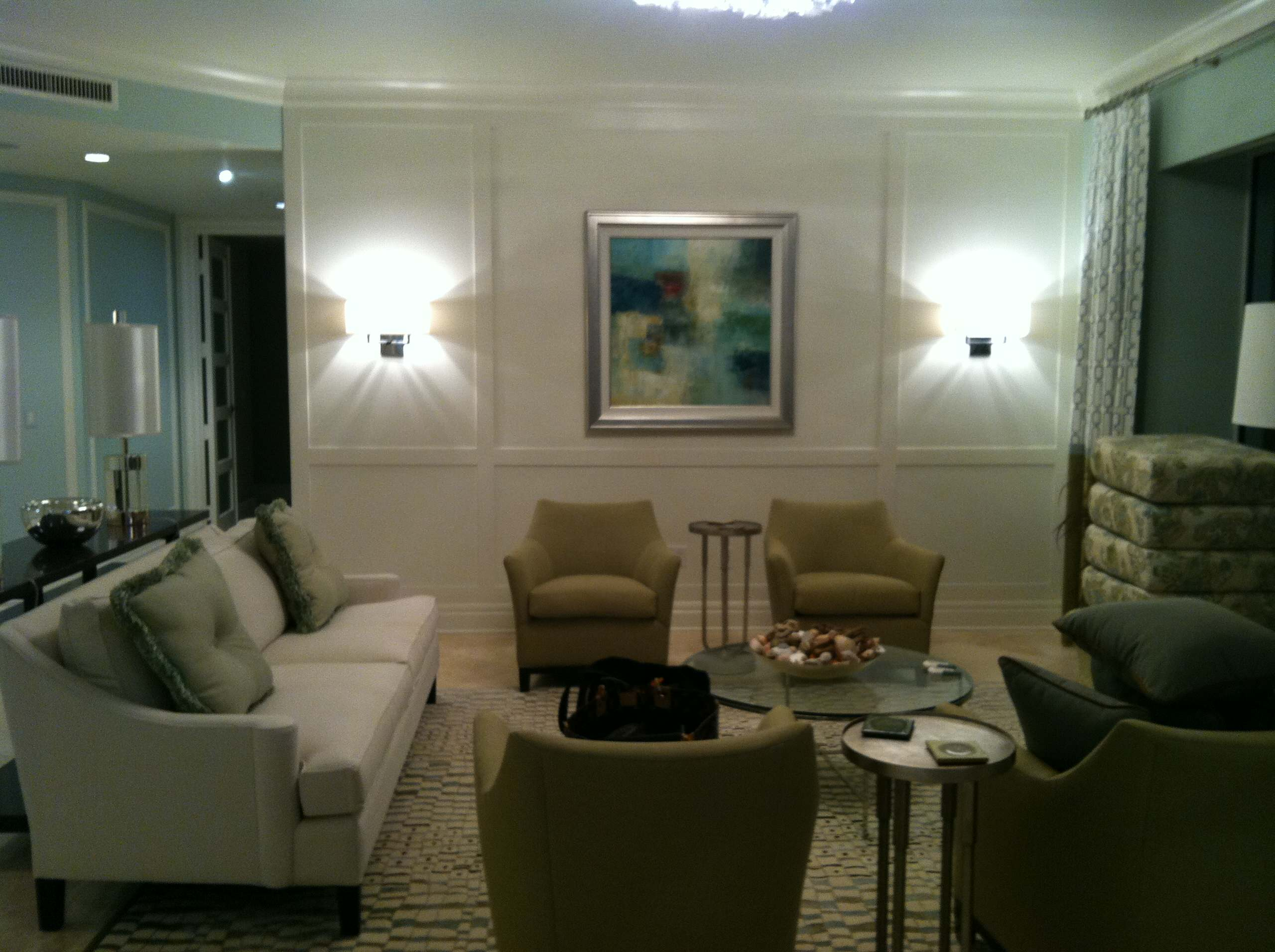 My Projects: Elegant Transitional Living Space