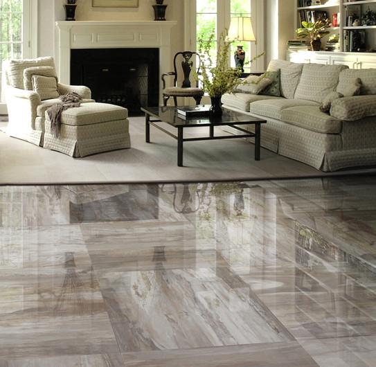 Mystere Porcelain Tile contemporary living room detroit