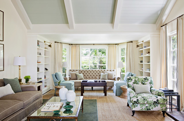 Nantucket In The Palisades Traditional Living Room