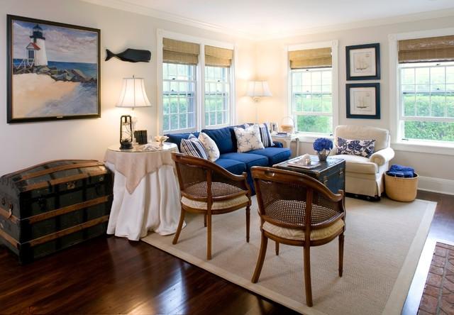 Nantucket, Ma. traditional-living-room