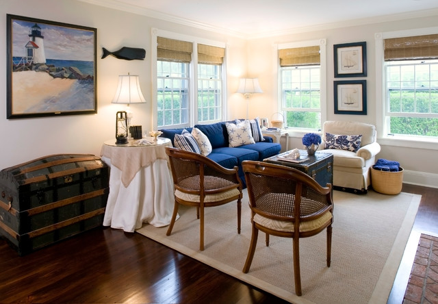 Nantucket Ma Traditional Living Room