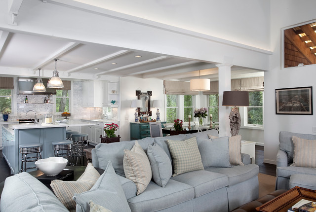 Nantucket Meets Mountain Traditional Living Room Other Metro By Karen White Interior Design