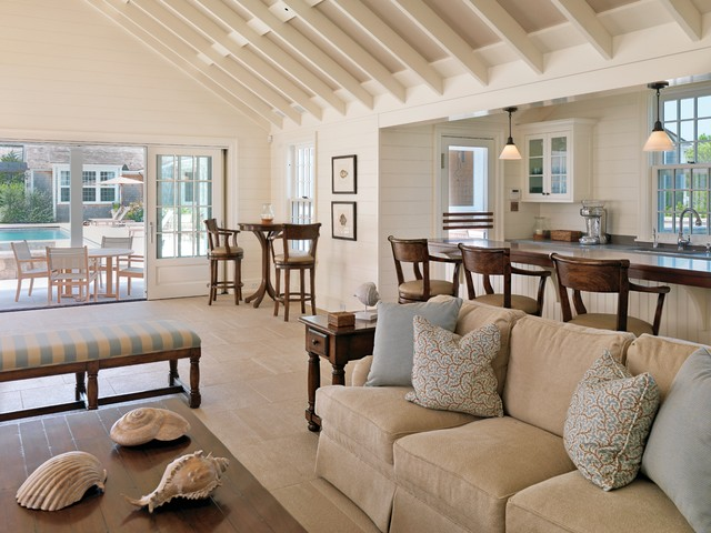 Awesome Nantucket Residence Traditional Living Room