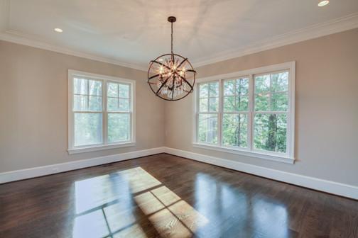 Nantucket-style custom home traditional