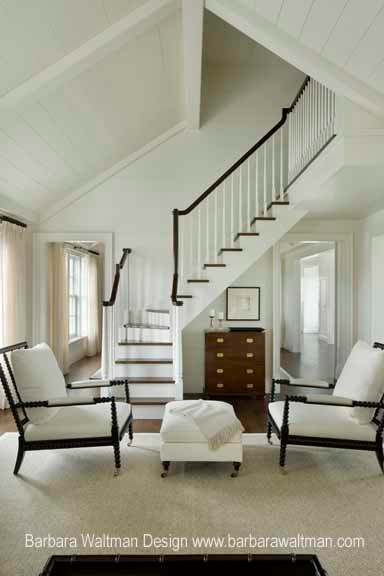 Nantucket Summer Home Traditional Living Room Other By Barbara Waltman Design
