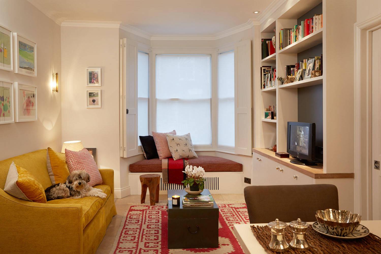 Living Room Bay Window Ideas Photos