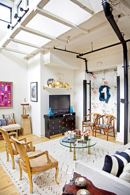 Naomi S House Eclectic Living Room Philadelphia By