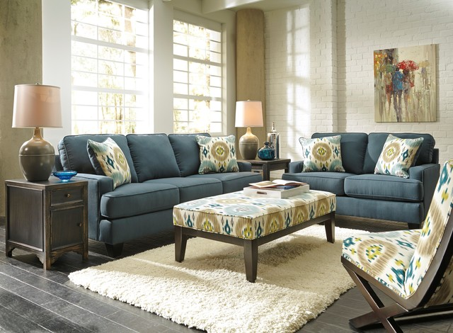 Naomi Sofa Contemporary Living Room