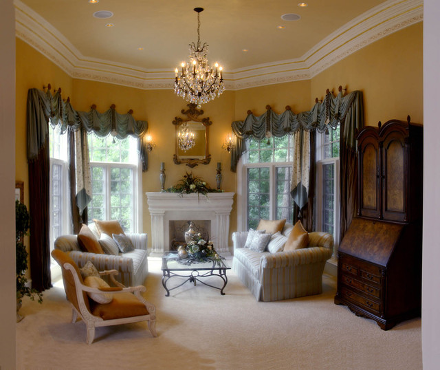 Naperville Showcase Home Traditional Living Room