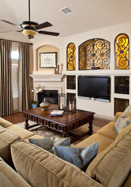Naples Residence -  Great Room traditional-living-room