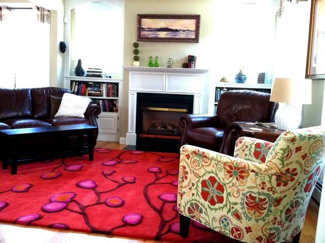 Nasturtium Living Room modern-living-room
