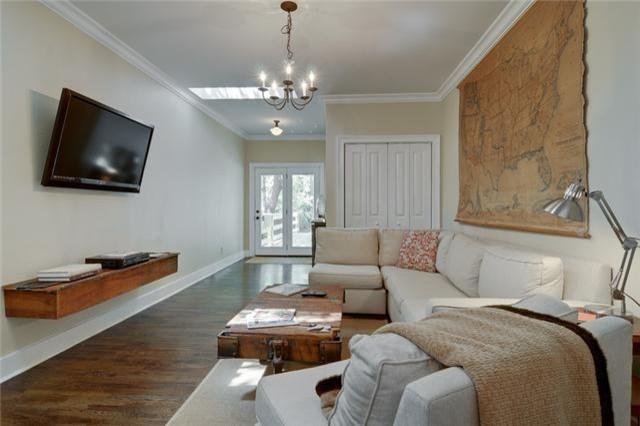 Natchez Trace contemporary-living-room