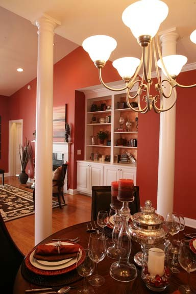 Nation's Next Top Model Home eclectic-living-room