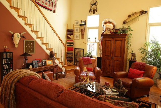 Native American Inspiration - American Traditional - Living Room - Other - By Maddy Warner