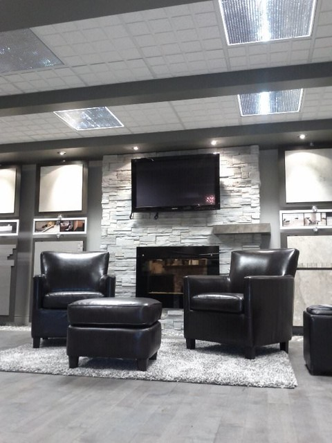 natural stone contemporary living room montreal by co depot c ramique. Black Bedroom Furniture Sets. Home Design Ideas
