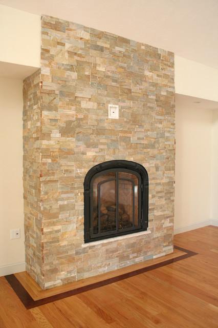 Natural Stone Fireplaces : Natural stone fireplace