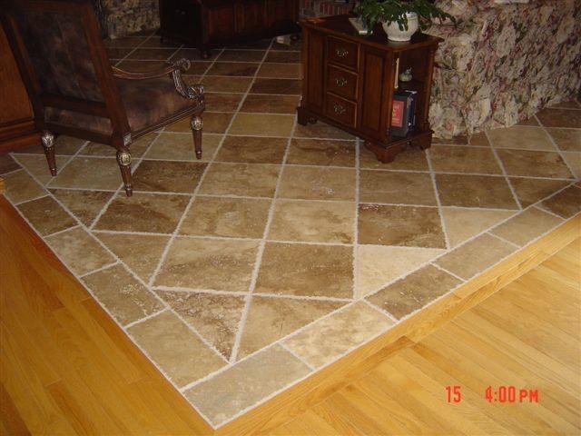 Natural Stone Travertine Flooring