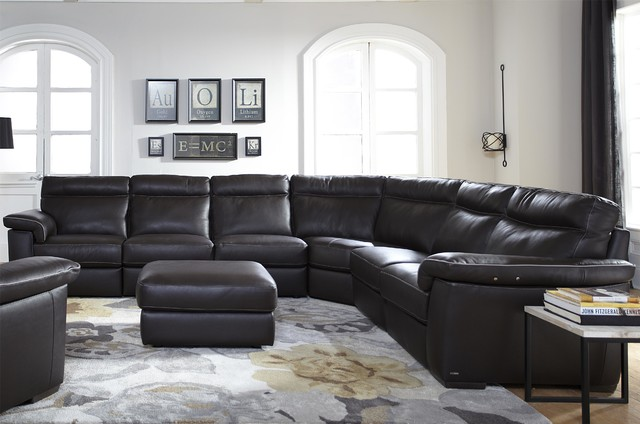 Incredible Natuzzi Editions Four Piece Power Reclining Leather Alphanode Cool Chair Designs And Ideas Alphanodeonline