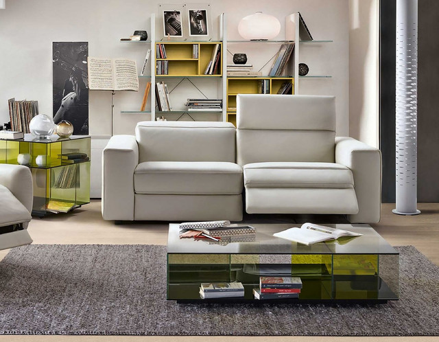 excellent furniture contemporary living room calgary crave   Natuzzi Italia - Modern - Living Room - Calgary - by ...