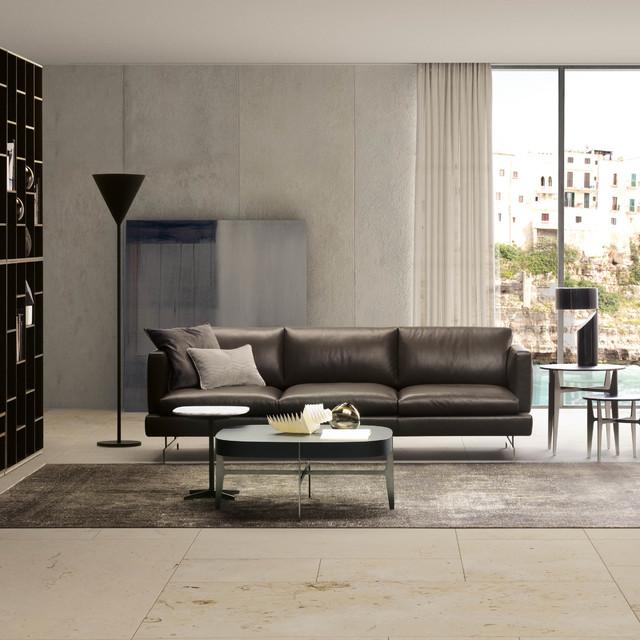 natuzzi jeremy  contemporary  living room  london