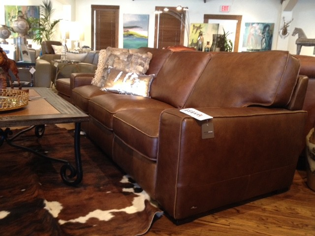 Beau Natuzzi Leather Sofa (Austin U0026 Houston) Modern Living Room